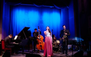 Jazz Philharmonic Hall, St. Petersburg, Egle Petrosiute International Band ft. Caspar Van Wik